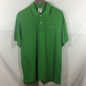 Lacoste Men's Polo Green (size 5 / Large)